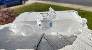 1959 Chevrolet Corvette  24% Lead Crystal Glass Formen Magic Crystal W Germany