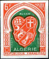 COLONIES ALGÉRIE N° 353 NEUF** NON DENTELÉ