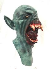 Deluxe Vampire Drac Bat Full Head Mask Latex Halloween Fancy Dress GHOULISH