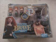 Disney/Pixar Brave Transforming Triplets Dolls V1813 Mattel BNIP MagiClip 2011