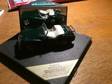 VITESSE LTD 1 of 2000 TRIUMPH TR3A,1:43. MIB/BOXED. RARE.British Racing Green
