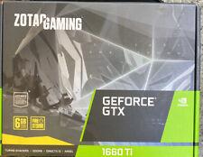 ZOTAC GAMING GeForce GTX 1660 Ti 6GB GDDR6 graphics board NVIDIA