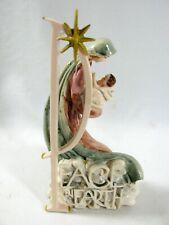 Roman Inc 2004 Peace on Earth Mary Jesus Figurine Statue 7 inches tall