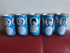 BLACK AMERICANA RC Cola Vintage Baseball MLB Cans 1976 KEN GRIFFEY/ETC ..