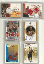 Marcus Fizer Rookie Auto/Autograph Jersey lot with 2 non Autos  nice.