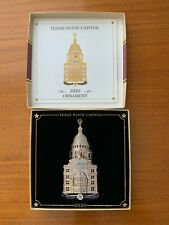 Texas State Capitol Christmas Ornament 2020 25th Anniversary Edition