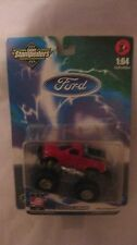 Ford 4X4 Monster Truck In A Red 164 Scale Diecast Stampeders 1999 NEW     dc1213