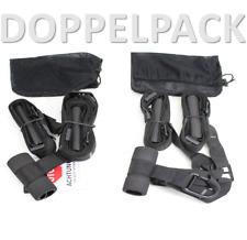 SCHLINGENTRAINER x 2 inkl Türanker | Haken Suspension Sling Training 125 kg 22+