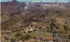 postcard USA Texas  Western College El Paso unposted