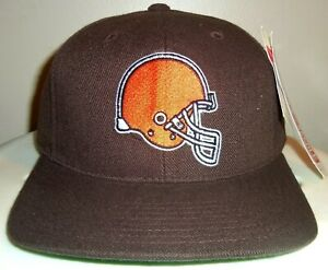 NEW VINTAGE CLEVELAND BROWNS NFL AMERICAN NEEDLE SNAPBACK HAT (GREEN UNDER) NWT!