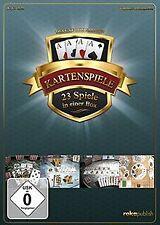 Kartenspiele 23 in 1 Deluxe Box Edition - [PC] von ...   Game   Zustand sehr gut
