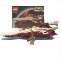Lego 7143 Jedi Starfighter with instructions, no box. Complete