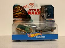 Hot Wheels Star Wars Disney Character Cars Jabba The Hutt Han Solo In Carbonite