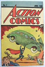 Action Comics #1 Reprint 1987 Nestles Quik 10¢ Cover 1st Appearance of Superman