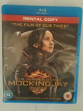 The Hunger Games: Mockingjay Part 1 Blu-Ray rental version (2014) BRAND NEW
