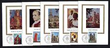 Vatikan 572/6 Maximumkarten Papst in Australien + Philippinen