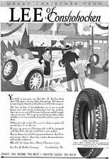 Lee Tires 1927 - Lee Tire Ad - Merry Christmas Form Lee of Conshohocken