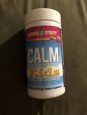 Natural Vitality Calm Specifics KIDS CALM-FOCUS Drink Mix, 4 oz