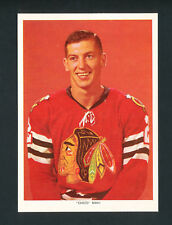 "1963-65 CHEX CEREAL HOCKEY PHOTO ""CHICO"" MAKI CHICAGO BLACK HAWKS rare"