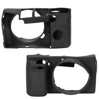 12.5*7*4.5cm Soft Silicone Camera Case Protective Cover for Sony A6000 Cam Black