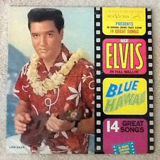 Elvis Presley BLUE HAWAII LP MONO, VG/EX, LPM/LSP-2426, Original, Nice!