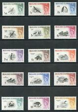 Falkland Is SG193/207 1960 Birds Set of 15 M/Mint