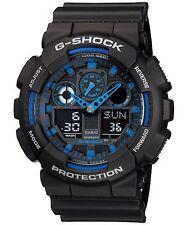 Casio G-Shock GA100-1A2 Ana-Digi Speed Indicator