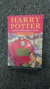 Harry Potter and the Philosopher's Stone Joanne Rowling J.K Rowling 1997 P/b