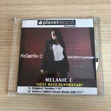Melanie C _ Next Best Superstar_CD Single PROMO_2005 Planet Records Italy_RARE!