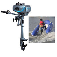 2.5KW 3.5HP 2-Stroke Outboard Motor Fishing Boat Engine Water Cooling CDI System