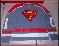 Superman Hockey #01 Shirt jersey Youth Size-S