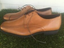 Mens Allen Edmonds Tribeca Derby Walnut Oxfords Size 12