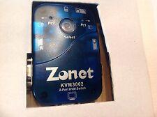Zonet KVM3002 2 Port KVM Switch