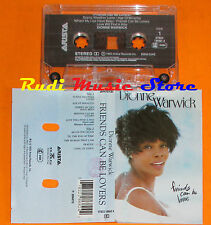 MC DIONNE WARWICK Friends can be lovers 1993 italy ARISTA  cd lp dvd vhs