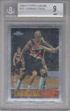 1996-97 Topps Chrome #191 Jermaine O'Neal Rookie BGS 9 Mint