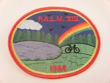 Vintage Patch PALM XIII 1994 Cycling Bicycle Rainbow Lake Pine Forest Nature