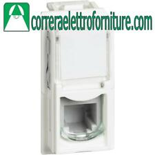 BTICINO LIVING NOW KW4258RJ11 CONNETTORE RJ11 BIANCO