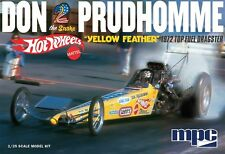 NEW! 1972 Don Prudhomme Hot Wheels Yellow Feather NHRA Dragster Model Kit 1/25