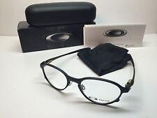 NIB Oakley Overlord Satin Black Frames Rx Titanium Eyeglasses OX5067-0251 W/Case
