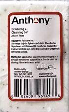 New Sealed Anthony Exfoliating & Cleansing Bar Face Sample Size 1oz 28g Soap Men