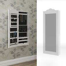 Armoire à glace armoire à bijoux Miroir mural blanc Mur Armoire petit