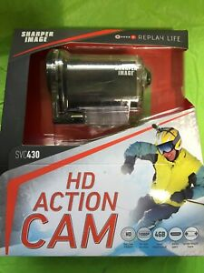 Sharper Image SVC430 12 Megapixel 1080P HD Sports Action Camera with 1.5-Inch L