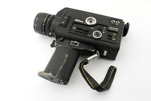 """""""For parts"""" Nikon R8 Super 8mm Movie Cine Film Camera From Japan #5589"""