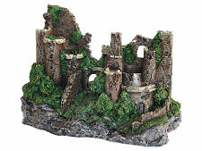 Rustic Castle Aquarium Ornament Fish Tank Decoration