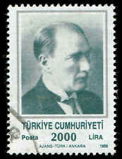 Scott # 2448 - 1989 - ' Kemal Ataturk '