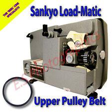 SANKYO carico-MATIC standard 8mm CINE PROIETTORE BELT PER PULEGGIA superiore