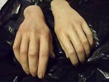 UNUSUAL VINTAGE LIFE SIZE FIGURE HANDS EXHIBIT/ARTS/MODELS/MANNEQUIN+