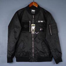 100% Authentic Brooklyn Nets Mens Jacket Size M Medium - jeremey lin jay z