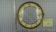 "CLOCK DOOR WITH CONVEX GLASS AND DIAL 5 1/16"" or 12,9 cm across"