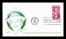 DR JIM STAMPS US BABE DIDRIKSON ZAHARIAS TUDOR HOUSE FIRST DAY COVER